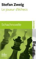 Couverture du livre « Le joueur d'échec » de Stefan Zweig aux éditions Gallimard