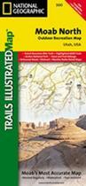 Couverture du livre « Moab north » de Collectif aux éditions National Geographic Us
