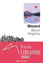 Couverture du livre « Blizzard » de Marie Vingtras aux éditions Editions De L'olivier