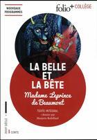 Couverture du livre « La belle et la bête » de Jeanne-Marie Leprince De Beaumont aux éditions Gallimard