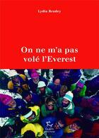 Couverture du livre « On ne m'a pas volé l'Everest » de Lydia Bradey aux éditions Guerin