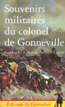 Couverture du livre « Souvenirs Militaires Du Colonel De Gonneville » de De Gonneville A aux éditions Giovanangeli