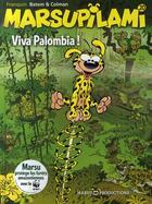 Couverture du livre « Marsupilami T.20 ; viva Palombia ! » de Batem et Stephane Colman et Andre Franquin aux éditions Marsu Productions