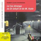 Couverture du livre « Dr Jekyll et de M. Hyde » de Robert Louis Stevenson et Antonia Gasquez aux éditions Nathan