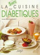 Couverture du livre « Cuisine Pour Diabetiques » de Simeon De aux éditions Saep