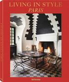 Couverture du livre « Living in style paris » de Sarkozy Carolin aux éditions Teneues