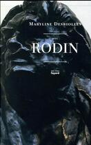 Couverture du livre « Avec Rodin » de Maryline Desbiolles aux éditions Fayard