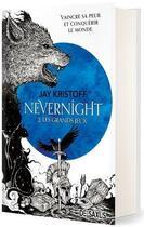 Couverture du livre « Nevernight t.2 : les grands jeux » de Jay Kristoff aux éditions De Saxus