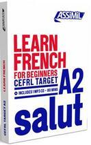 Couverture du livre « Learn french » de Anthony Bulger aux éditions Assimil
