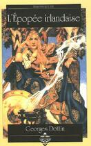 Couverture du livre « L'epopee irlandaise » de Georges Dottin aux éditions Terre De Brume