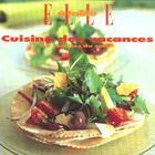 Couverture du livre « Cuisine Des Vacances » de Nathalie Le Foll aux éditions Filipacchi