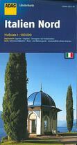 Couverture du livre « Italie Nord » de  aux éditions Adac