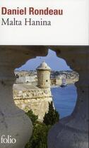 Couverture du livre « Malta Hanina » de Daniel Rondeau aux éditions Gallimard