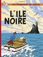 Couverture du livre « Les aventures de Tintin T.7 ; l'île noire » de Herge aux éditions Casterman