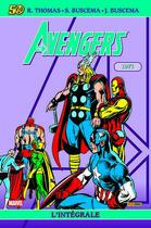 Couverture du livre « Avengers ; INTEGRALE VOL.8 ; 1971 » de Harlan Ellison et Roy Thomas aux éditions Panini