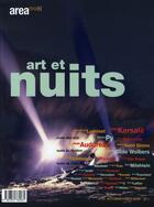 Couverture du livre « AREA N.13 ; art et nuits » de Area aux éditions Descartes & Cie
