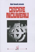 Couverture du livre « Ordre nouveau » de A. Renault Presente aux éditions Deterna