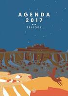 Couverture du livre « Agenda Tripode (édition 2017) » de Collectif aux éditions Le Tripode