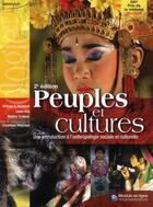 Couverture du livre « Peuples et cultures ; une introduction à l'anthropologie sociale et culturelle (2e édition) » de Haviland & Coll aux éditions Modulo