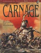Couverture du livre « Carnage » de Bolton aux éditions Delcourt