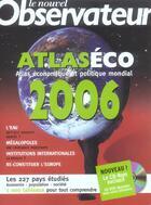 Couverture du livre « Atlaseco 2006 » de Bertrand Clare aux éditions Le Nouvel Observateur
