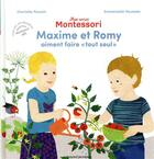 Couverture du livre « Mes amis Montessori t.1 ; Maxime et Romy aiment