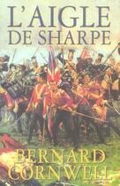 Couverture du livre « L'aigle de sharpe » de Bernard Cornwell aux éditions Nimrod