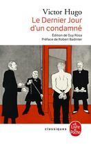 Couverture du livre « Le dernier jour d'un condamné ; Claude Gueux : l'affaire Tapner » de Victor Hugo aux éditions Lgf