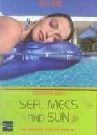 Couverture du livre « California girls t.4 ; sea, mecs and sun » de Hailey Abbott aux éditions Fleuve Noir