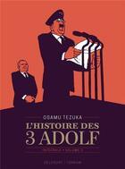 Couverture du livre « L'histoire des 3 Adolf ; INTEGRALE VOL.2 » de Osamu Tezuka aux éditions Delcourt