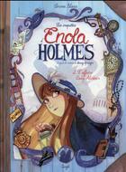 Couverture du livre « Les enquêtes d'Enola Holmes T.2 ; l'affaire lady Alistair » de Serena Blasco aux éditions Jungle