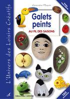 Couverture du livre « Galets peints » de Genevieve Ploquin aux éditions Editions Carpentier