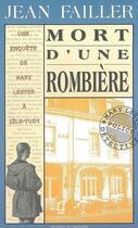 Couverture du livre « Mort d'une rombière » de Jean Failler aux éditions Palemon