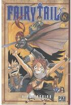 Couverture du livre « Fairy tail t.8 » de Hiro Mashima aux éditions Pika