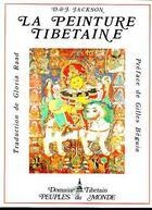 Couverture du livre « La peinture thibetaine » de Jackson aux éditions Adret