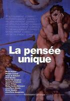 Couverture du livre « La pensée unique » de Collectif aux éditions Contretemps