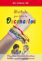 Couverture du livre « Méthode pour faire les decenarios ; chapelets, bracelets brésiliens » de Michel Gurnaud aux éditions Saint Jude