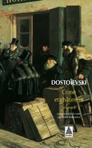 Couverture du livre « Crime et châtiment t.2 » de Fedor Mikhailovitch Dostoievski aux éditions Actes Sud