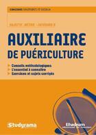 Couverture du livre « Auxiliaire de puériculture » de Collectif aux éditions Studyrama