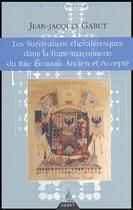 Couverture du livre « L'influence de la chevalerie dans la franc-maconnerie de Rite Ecossais Ancien et Accepté » de Jean-Jacques Gabut aux éditions Dervy