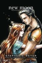 Couverture du livre « Twilight t.1 ; new moon » de Kim Young et Stephenie Meyer aux éditions Pika