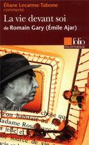 Couverture du livre « La vie devant soi de romain gary (emile ajar) (essai et dossier) » de Lecarme-Tabone Elian aux éditions Gallimard