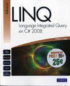 Couverture du livre « Linq en c# nouveau prix » de Joseph C. Rattz aux éditions Pearson