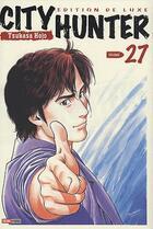 Couverture du livre « City hunter t.27 » de Hojo-T aux éditions Panini