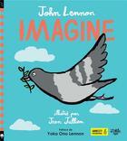 Couverture du livre « Imagine » de John Lennon et Jean Jullien aux éditions Little Urban