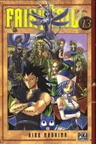Couverture du livre « Fairy tail t.13 » de Hiro Mashima aux éditions Pika