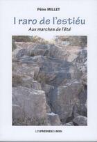 Couverture du livre « I raro de l'estieu » de Peire Millet aux éditions Presses Du Midi