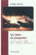 Couverture du livre « Les âmes du purgatoire m'ont dit » de Maria Simma aux éditions Parvis