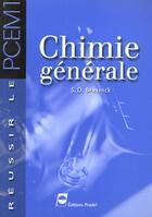 Couverture du livre « Chimie Generale » de Bresnick aux éditions Pradel