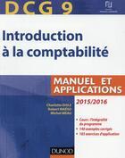 Couverture du livre « Dcg 9 ; introduction à la comptabilité (7e édition) » de Charlotte Disle et Robert Maeso et Michel Meau aux éditions Dunod